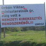 Az UMDSZ meg- és felszólítja Orbánt