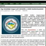 Az UMDSZ befeküdt a Jobbik ágyába